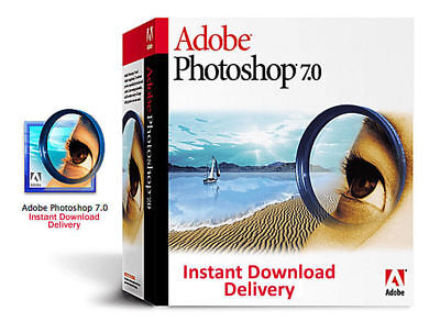 Adobe Photoshop 7.0 PC Full License with Key Instant Delivery (Digital Download)