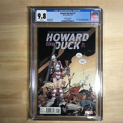 Howard the Duck #2 1:25 Fowler Variant CGC 9.8!! ONLY 5 IN CENSUS!!