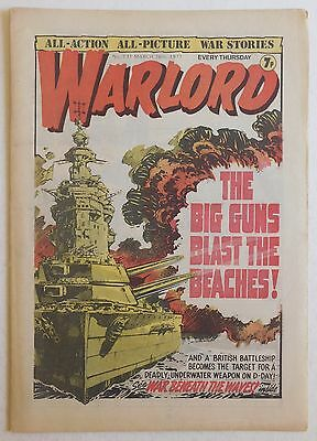 WARLORD Comic #131 - 26th March 1977