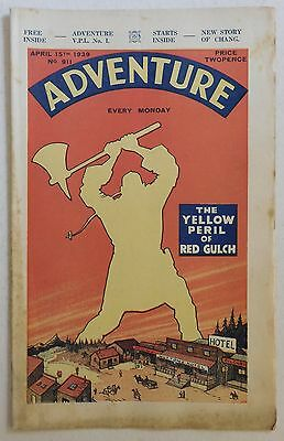 ADVENTURE #911 - 15th April 1939