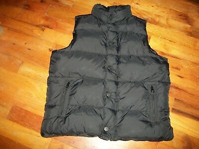Boys Youth Old Navy Black Puffer Vest Size Small Winter Outdoors