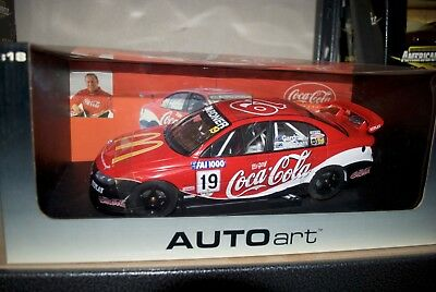 Auto Art 1/18 - Wayne Gardner Holden Commodore Coca Cola Brabham V8 Racing