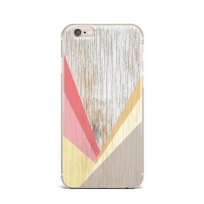Geometric Wood iPhone 5s SE 6s 7 8 Plus Gel Cover Marble iPhone X XS Max XR Case