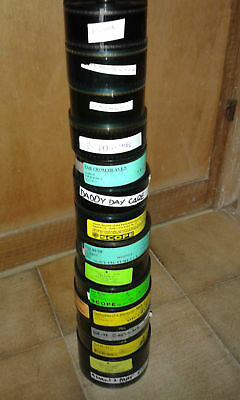 35mm x 15 TRAILER/FILM/MOVIE/FLAT/TEASER/BANDE LOT EDWARD-BLADE-CRUSH-PINOCCHIO