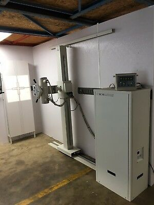 2007 HCMI Chiropractic X-ray Room with Stored Energy Generator