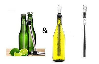 Wine Chill & Beer Chiller Stick Combo Pack