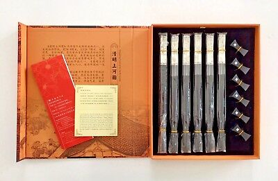 New QINGMING FESTIVAL by the RIVERSIDE Shanghai Chopsticks Store Silver Gift
