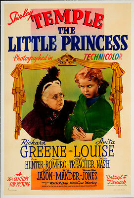 The Little Princess 1939 29x42.25 Orig Movie Poster FFF-65284 Rolled Very Fine