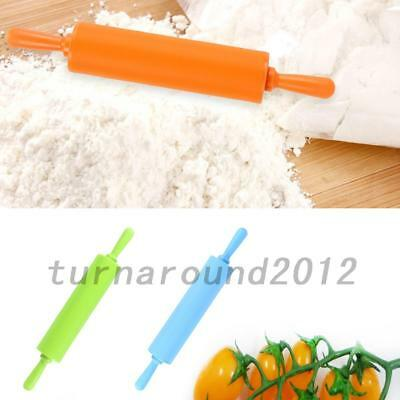 HOT Silicone Non Stick Rolling Pin Baking Pastry Tool Dough Rolling Pin