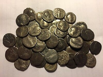 One Genuine Ancient Roman Silver Coins Denarius Auction