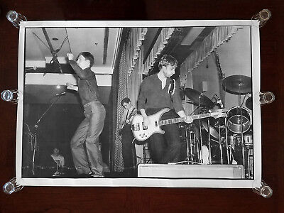 Rare Promo- Joy Division ~ 1979 YMCA, Prince Of Wales Conference Centre, London