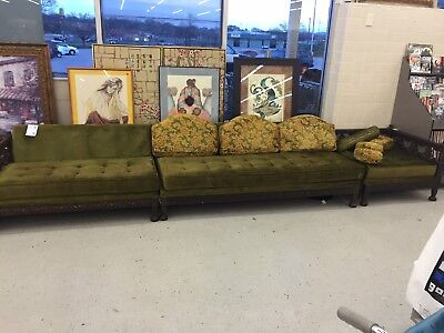 60s 70s Funky Groovy Sofa and Chair Set
