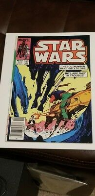 Star Wars #101 (1985) VF+ HIGH GRADE OFF WHITE PAGES LOW PRINT LATE LATER ISSUE