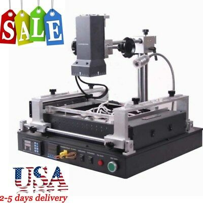 2KW Full IR BGA Rework Station SOLDER Reflow Reball Upgrade IR-PRO-SC 110V USA