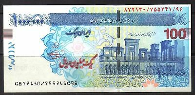 M-East ND2008 I. R. I. 1000000 Rial Cheque UNC condition CLEAN.....