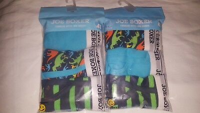 Joe Boxer Baby Toddler boy's  2-3-Pack briefs Size 4T (33-36 lbs) new