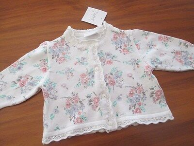 """Pretty winter Cardigan by """"Next U.K."""" to fit 0-3 month old"""