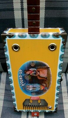 """Cigar Box Guitar """"Diddley Bow"""" Acoustic/Electric 25.5"""" scale lgth"""