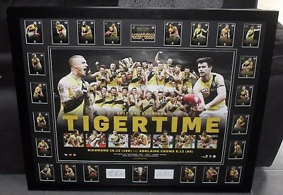 RICHMOND 2017 Premiership Tribute poster & Premiership select card set