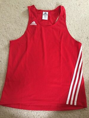 Adidas Red Boxing Singlet
