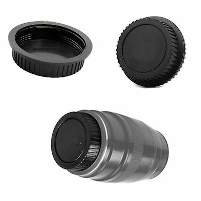 Rear Lens Cap Cover Protector for Canon Rebel EOS EFS EF EF-S EF DSLR SLR Black