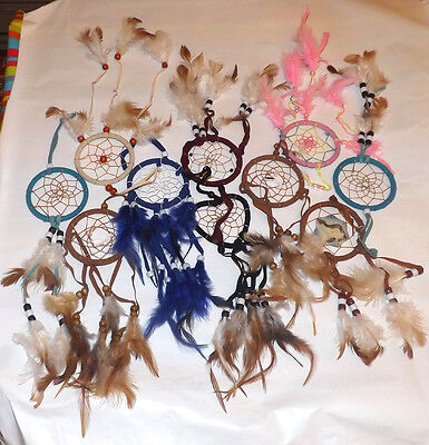"Wholesale Lot of 10 - 3"" Dream Catchers"