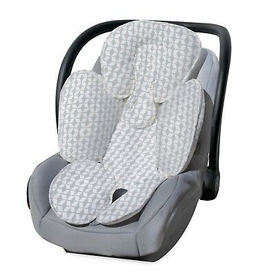 Carter's Infant Head Support and Cuddler for Carseats Strollers Diamond Trellis,