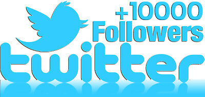 10000+ High Quality Twitter Followers-Instant Start-No Eggs-Guarantee 360 Days