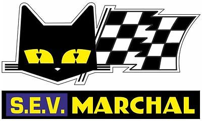 autocollant sticker SEV MARCHAL vintage rallye course VHC cote circuit young