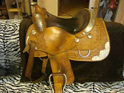 Western Showsattel von California Ranch - Western Saddlery