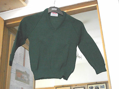 """Job Lot New 10 Quality Girls Boys School JUMPERS Size 26"""" & 28"""" FREE P&P RRP £12"""