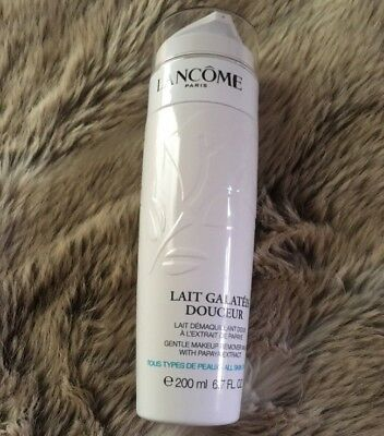 Lancome Galateis Douceur Gentle Makeup Remover Milk 200ml Full Size