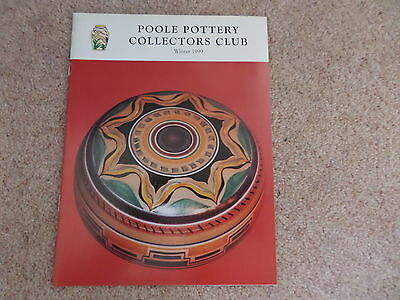 Poole Pottery Collectors Club Magazine WINTER 1999