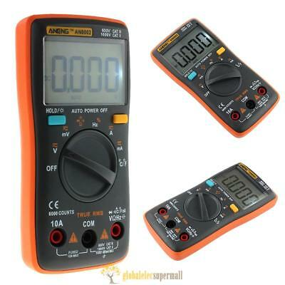 ANENG AN8002 Digital Multimeter 6000 Counts AC/DC Amperemeter Temperatur Tester