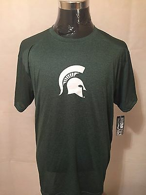 NCAA Michigan State Spartans 2XL Pro Edge Printed Tee by Knights Apparel