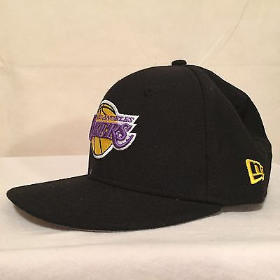 NBA Los Angeles Lakers LOGO YOUTH 9FIFTY WOOL Snapback by New Era