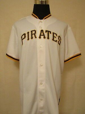 MLB Pittsburgh Pirates XL Embroidered HOME Baseball Jersey by Majestic