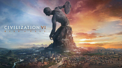 Sid Meier's Civilization VI: Rise and Fall- PC Global -Not Key/Code- Günstigst