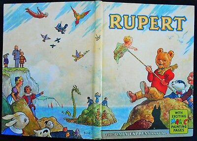 Vintage Original 1963 Rupert Bear Annual, Unscribed/price Unclipped 6/-