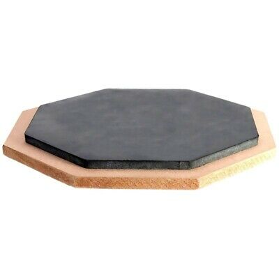"""6"""" Wooden rubber drum pad B1C6 N4V7 F5T6"""