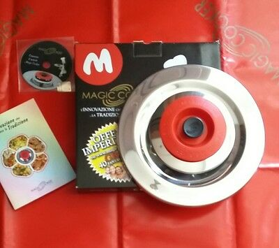 Magic Cooker L Originale! 1 Coperchio 31 Acciaio 18/0  Originale! Cd Ricettario