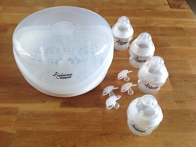 Tommee Tippee Closer To Nature Microwave Steam Steriliser EUC