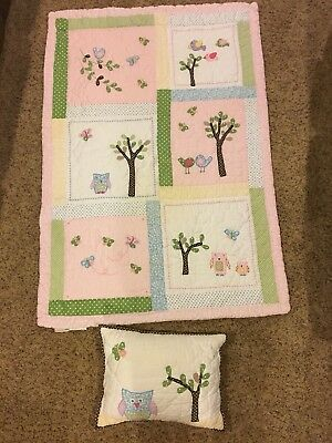 Pottery Barn Kids Hayley Crib Quilt And Pillow