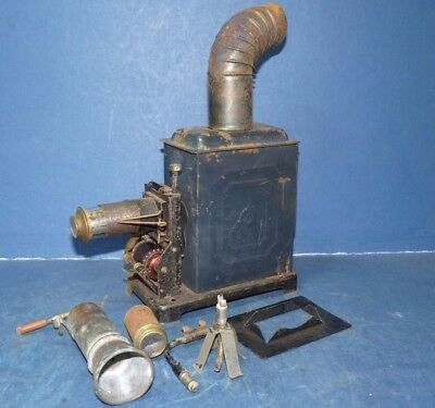 Michael Siedel Projector Film Cine 35mm Hand Crank Antique