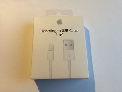 100% GENUINE ORIGINAL Charger USB Cable in Retail Box for Apple iPhone 7/6+/6/5S