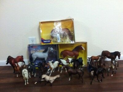 Huge Lot Breyer Horse Traditional Some Vintage Rare Dempsey General Lee'a Travel