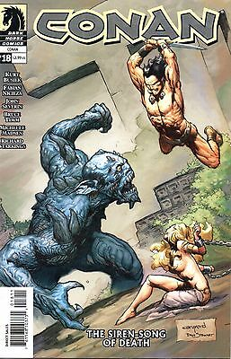 Conan Comic 18 Dark Horse 2005 Busiek NiciezaSeverin Timm   Siren Song Of Death