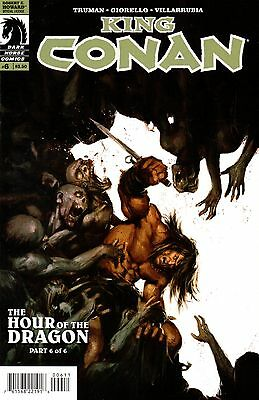 King Conan: The Hour of the Dragon Comic 6 Dark Horse 2013 Truman Giorello