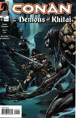 Conan and The Demons of Khitai Comic 1 of4 Dark Horse 2005 Yoshida Lee Starkings