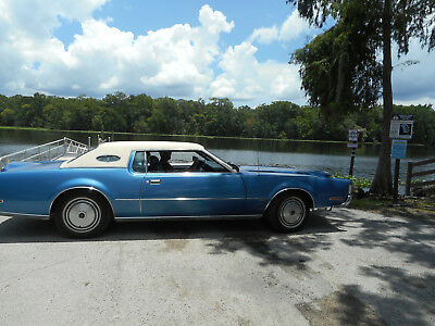 1972 Lincoln Mark Series MARK 4 EARLY 1972 LINCOLN MARK IV